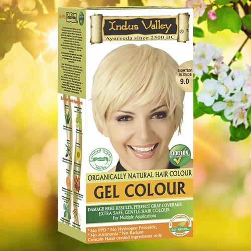OrganicHaarverf.nl - Gel Hair Colour Lightest Blonde 9.0